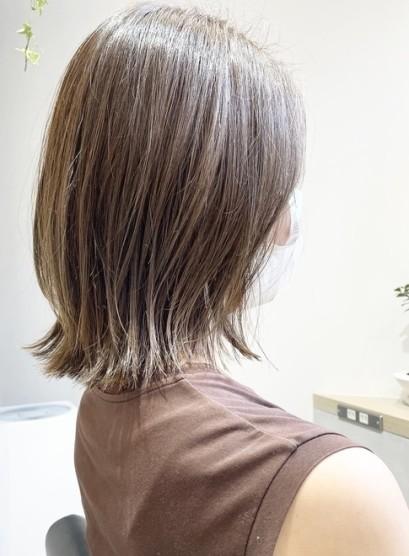 結べるボブ☆レイヤー☆外ハネ(髪型ミディアム)