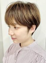 マッシュショート☆コンパクトショート(髪型ショートヘア)
