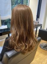 巻きやすいロングレイヤースタイル(髪型ロング)