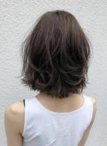 ニュアンスパーマ(髪型ボブ)