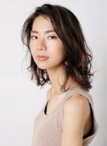 オトナミディアムヘア(髪型ミディアム)