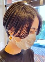 抜け感ハンサムショート(髪型ショートヘア)