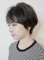大人かわいいふんわり小顔ショート(髪型ショートヘア)