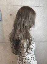 ゆる巻きロング(髪型ロング)