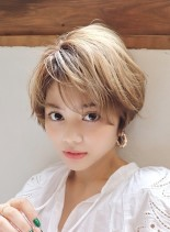 クールショート(髪型ショートヘア)