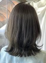 【30代40代女性へ・くびれミディアム】(髪型ミディアム)