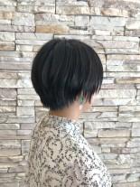 まとまりやすい大人ショートボブ(髪型ショートヘア)