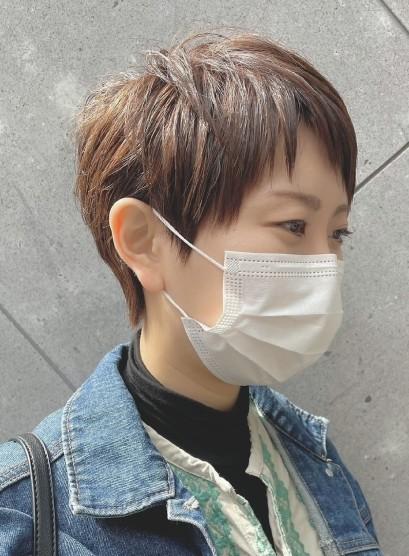 襟足スッキリベーリーショート(髪型ベリーショート)