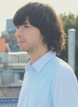 パベル・ネドベド 風パーマ(髪型メンズ)