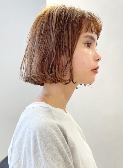 ボブ☆毛先ワンカール☆パーマ(ビューティーナビ)