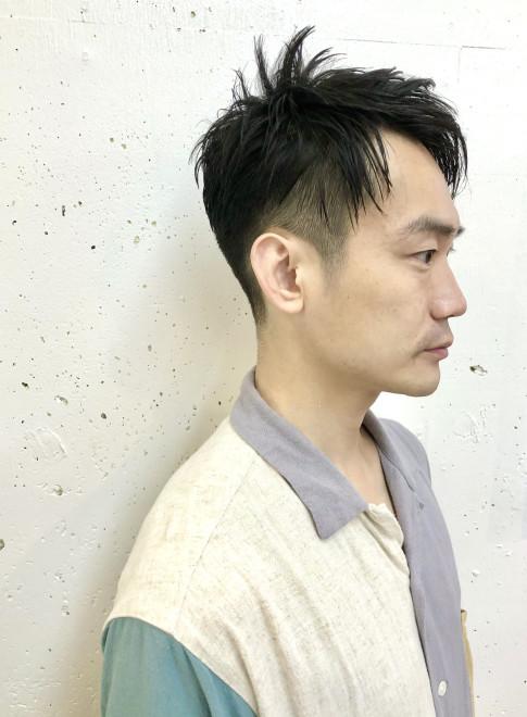 30代40代似合う刈り上げメンズショート(ビューティーナビ)