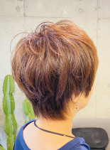 エレガントショートヘア(髪型ショートヘア)
