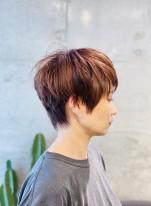 外国人風なショートヘア