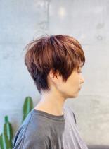 外国人風なショートヘア(髪型ベリーショート)