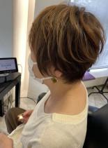 40代〜のショートヘア(髪型ショートヘア)