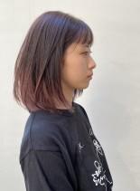 結べる長さで作る☆大人可愛いレイヤーボブ(髪型ボブ)