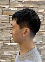 ベリーショート サイド&襟足刈りあげ(髪型メンズ)