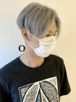 ジェンダーレスなハンサムショート(髪型メンズ)