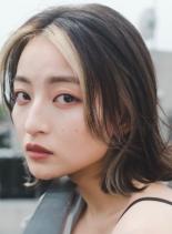 イルミナカラーヌードMIX(髪型ミディアム)