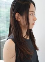 ナチュラルロング(髪型ロング)