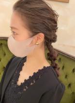 結婚式お呼ばれヘア*人気のスタイル(髪型ロング)
