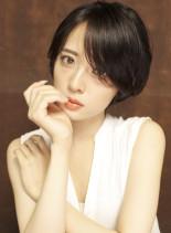 艶感大人上品ショートヘア(髪型ショートヘア)