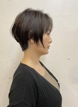 簡単にまとまる☆大人ショートボブ(髪型ショートヘア)