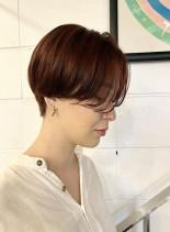 ハンサムショート ショートヘア(髪型ショートヘア)