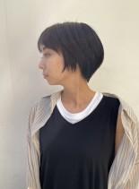 まとまりやすい☆大人可愛いショートボブ(髪型ショートヘア)