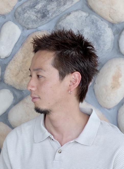 パンクショート【メンズカット】(ビューティーナビ)