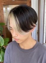 フェイスフレーミングカラー(髪型メンズ)