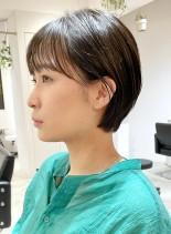 短すぎないショート(髪型ショートヘア)