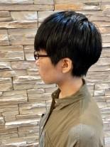 ショートヘア 前髪あり ふんわり&くびれ(髪型ショートヘア)