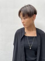 秋にオススメ大人かっこいいショートヘア(髪型ショートヘア)