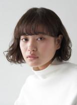 2021 秋冬におすすめ◎ パーマボブ(髪型ボブ)