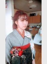 令和2年 袴スタイル(髪型セミロング)