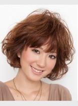ベイビーカール(髪型ショートヘア)