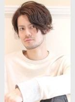 大人の色気ウェーブ(髪型メンズ)