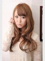 シルキーロング(髪型ロング)