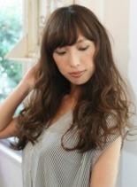 ブルブロングスタイル(髪型ロング)