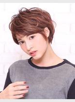 ふんわりショート(髪型ショートヘア)