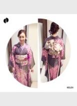☆振り袖☆ 結婚式(髪型ミディアム)