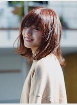 大人ミディアムボブ(髪型ミディアム)