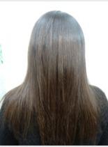 剛毛の縮毛矯正も可能‼(髪型ロング)