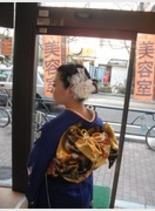振袖(髪型ミディアム)
