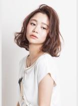 大人可愛い★無造作カール(髪型ミディアム)