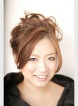 プチフォーマル(髪型ロング)