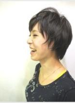 元気女子ショート(髪型ショートヘア)