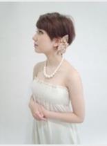 Party short(髪型ショートヘア)