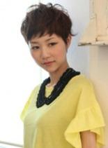 ブルブショートスタイル(髪型ショートヘア)